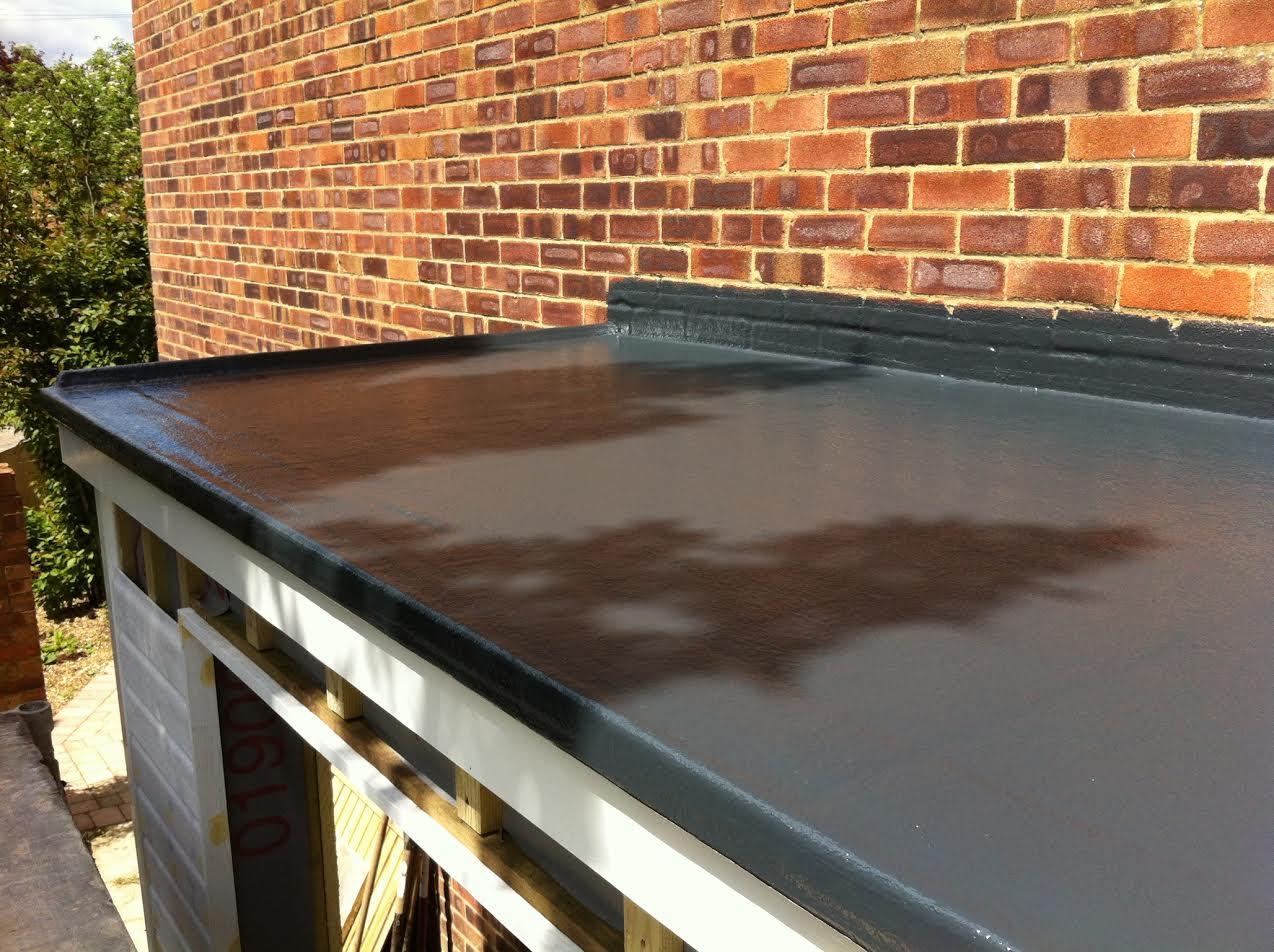 Fibreglass Flat Roofs